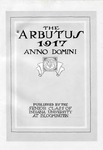 1917 Arbutus (Law School Pages)