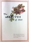 1924 Arbutus (Law School Pages) by Indiana University Junior Class