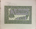 1907 Arbutus (Law School Pages) by Indiana University Senior Class