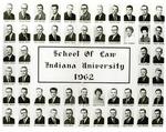Class of 1962, Indiana University School of Law