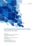 Data Protection Principles for the 21st Century