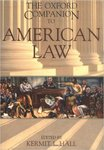 The Oxford Companion to American Law (edited by Kermit L. Hall)