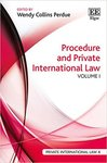 Procedure and Private International Law (edited by Wendy Collins Purdue)