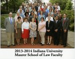 2013/14 Indiana University Maurer School of Law Faculty