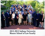 2012/13 Indiana University Maurer School of Law Faculty