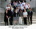 2008/09 Indiana University School of Law Faculty