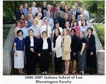 2006/07 Indiana University School of Law Faculty
