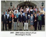 2005/06 Indiana University School of Law Faculty