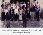2001/02 Indiana University School of Law Faculty