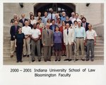 2000/01 Indiana University School of Law Faculty
