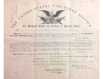 Hundred Days Volunteer Certificate by United States Department of War
