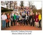2016/17 Indiana University Maurer School of Law Staff