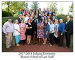 2017/18 Indiana University Maurer School of Law Staff