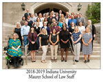 2018/19 Indiana University Maurer School of Law Staff