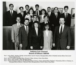 Indiana Law Journal Board of Editors 1989-1990 by Indiana University School of Law